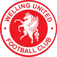 Welling United FC Car Sticker (Round) by Ascar. Available now from Andreas Carter Sports.