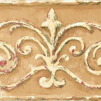 Border Book Arch Scroll Border SM8478BD by York