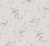 Callaway Cottage Floral Branches W/Bi Wallpaper CT0868 by York