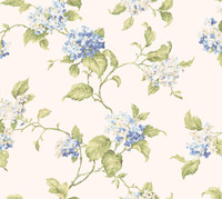 Callaway Cottage Hydrangia Sidewall Wallpaper CT0907 by York