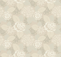 Candice Olson Dimensional Surfaces Dahlia and Leaf Toss Wallpaper CX1295 by York