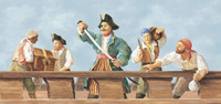 Mural Portfolio II Band Of Pirates Mural KD0316MMP by York