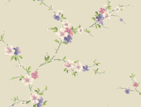 Casabella II Blossom Trail Wallpaper BA4562 by York