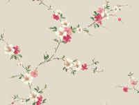 Casabella II Blossom Trail Wallpaper BA4565 by York
