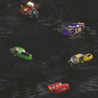 Walt Disney Kids Cars Garage Metal Wallpaper DK5884 by York