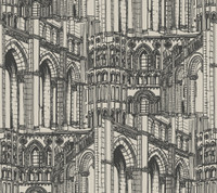 American Classics Architectural Drawing Wallpaper AM8634  by York