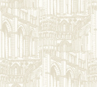 American Classics Architectural Drawing Wallpaper AM8636  by York