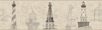 American Classics Architectural Lighthouse Border AM8648BD  by York