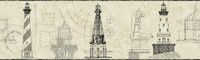 American Classics Architectural Lighthouse Border AM8651BD  by York