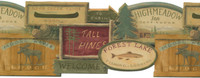 Lake Forest Lodge Barnboards Wallpaper WL5540LM by York