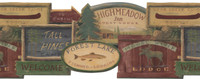 Lake Forest Lodge Barnboards Wallpaper WL5544LM by York