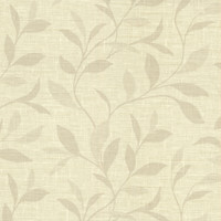 Flora Beige Leaves