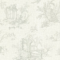 Antiquity Green Linen Toile