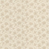 Dainty Taupe Small Floral