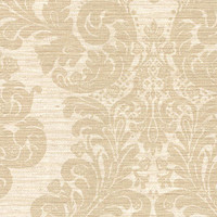Anders Brown Grasscloth Damask