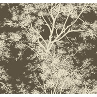 Silhouettes Contemporary Trees AP7505 Wallpaper