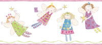 Border Portfolio II Angel Fairies Border ZB3444BD by York