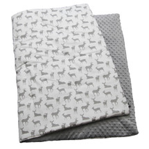 GREY DEER Play Blanket