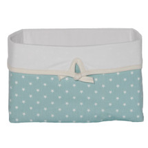 AQUILA Soft Nursery Basket - Teal Mini Star