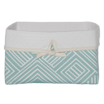 AQUILA Soft Nursery Basket - Teal Maze