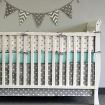 ELEPHANT JOY Baby Crib Bumper Pads
