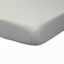 Lifetime FITTED CRIB SHEET Dove Grey