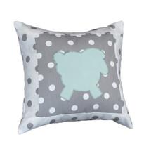 ELEPHANT JOY Lammy Appliqué Nursery Pillow