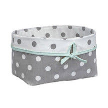 ELEPHANT JOY Dark Soft Nursery Basket