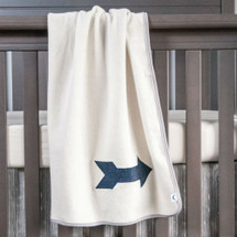 LITTLE BIRD Baby Blanket Organic Surpa with Arrow