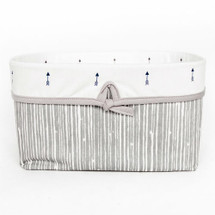 LITTLE BIRD Soft Nursery Basket - Bark with Mini Arrow