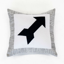 LITTLE BIRD Arrow Applique Nursery Pillow