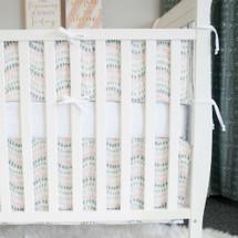 WOODLAND FOX Baby Crib Bumper Pads