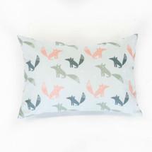 WOODLAND FOX Lumbar Nursery Pillow - Fox