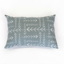 WOODLAND FOX Lumbar Nursery Pillow - Arrow Heads