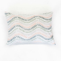 WOODLAND FOX Lumbar Nursery Pillow - Jewel Dot