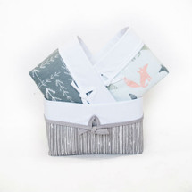 WOODLAND FOX Soft Nursery Baskets