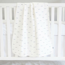 Baby Blanket - LITTLE BIRD - Mini Arrows/Light Weight