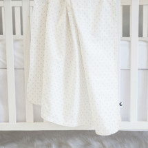 Baby Blanket - STARLET - Mini Natural Stars/Light Weight