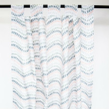 JEWEL DOT Long Nursery Drapes - Tab or Rod Top - Jewel Dot (Set of 2)