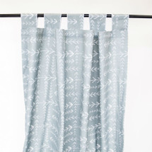 ARROW HEADS Long Nursery Drapes  - Tab or Rod Top  (Set of 2)