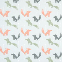 WOODLAND FOX Fabric