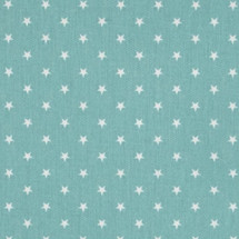 AQUILA Teal Star Fabric