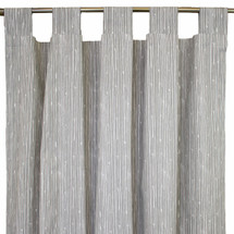 GREY DEER Long Nursery Drapes - Tab or Rod Top - Grey Bark (Set of 2)