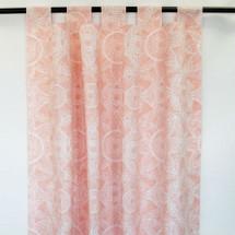 BOHO BLUSH Long Nursery Drapes - Tab or Rod Top - Zara Sun (Set of 2)