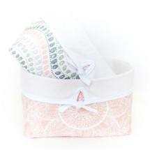 BOHO BLUSH Soft Nursery Baskets