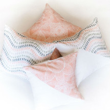 BOHO BLUSH Decor Nursery Pillows
