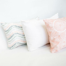 BOHO BLUSH Lumbar Nursery Pillows