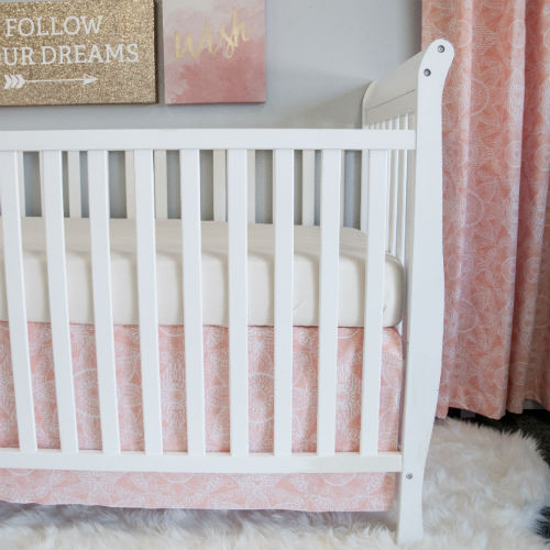 Gorgeous Crib Skirt Made of 100% Cotton