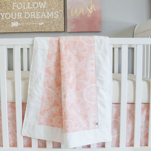 Baby Blanket -- perfect for playtime, tummy time or bedtime