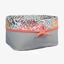 RIO Grey Soft Nursery Basket